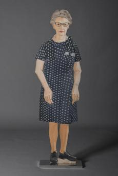 """Margie"" by Alex Katz."